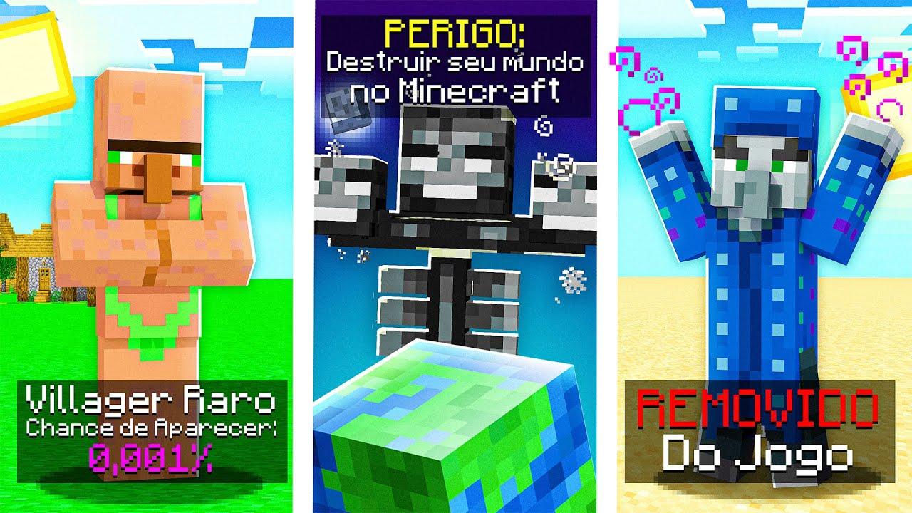 expondo os SEGREDOS dos MOBS do Minecraft!