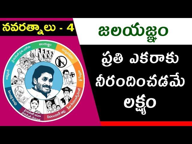 YS Jagan Mohan Reddy's Promises | #Navaratnalu 4 | #Jalayagnam