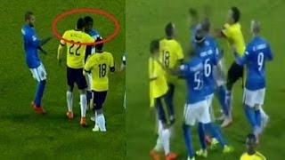 Neymar vs Carlos Bacca & Murillo EXPULSION BRASIL VS COLOMBIA