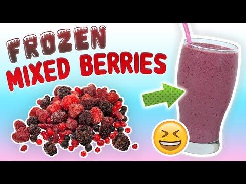 Mixed Berry Smoothie (Antioxidant Smoothie Recipe)