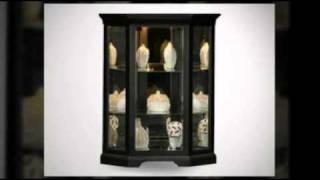 Corner Curio Cabinet - Call 888-752-8746 - Curiocabinetspot.com
