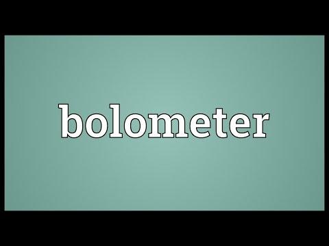 Header of bolometer