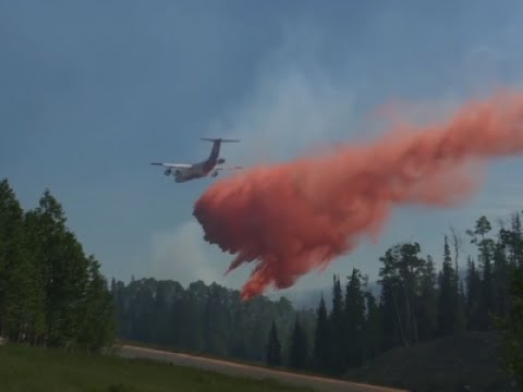 Raw: Utah Wildfire Forces Hundreds to Evacuate