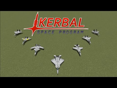 Subscriber Designs - Fighter Jet Showdown - Kerbal Space Program