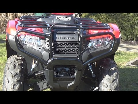 Honda Foreman TRX 500 walk-around
