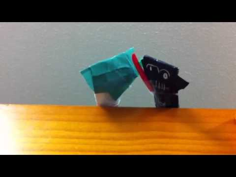 Deluxe Origami Yoda Vs Darth Paper
