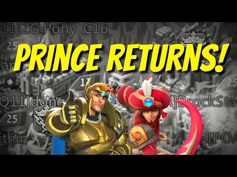 Worthy Prince Is Back! - Lords Mobile
