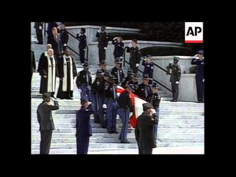 USA: ALABAMA: FUNERAL OF FORMER GOVERNOR GEORGE WALLACE (2)