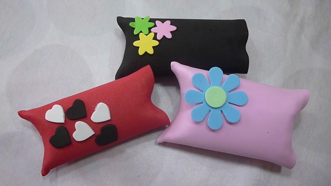 Diy como hacer paquetes de regalo con gomaeva youtube - Paquetes originales para regalos ...