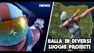 FORTNITE - MISSIONE BALL IN DISRESPECTS [IT GUIDE] PASS BATTLE WEEK 2