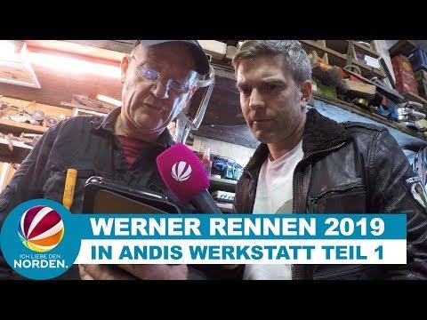 Andi Feldmann bereitet sich auf Werner Rennen 2019 vor