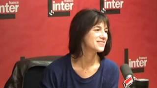 Charlotte Gainsbourg invité a France Inter - part 1/2