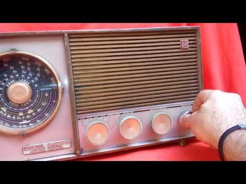 antigua radio gral electric valvular