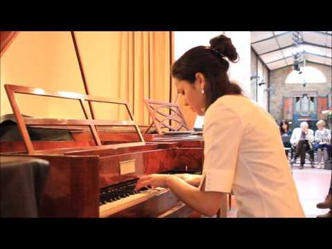 Patricia Garcia Gil plays fortepiano