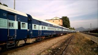 Probably for Lumding - Silchar Train Services | Brand new ICF Coaches shunting at New Guwahati