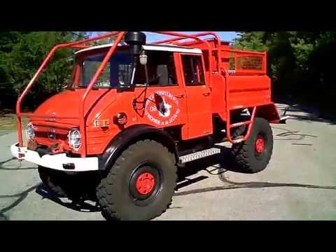 Unimog For Sale >> 1977 Unimog 416 DoKa Walk-Around - YouTube