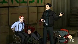 Archer Goes On A Rampage Against The Irish Mafia - Family Feud