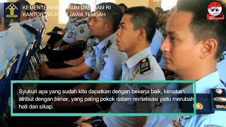 Kunjungan Kerja Kakanwil Kemenkumham Jateng ke Nusakambangan [28-08-2018]