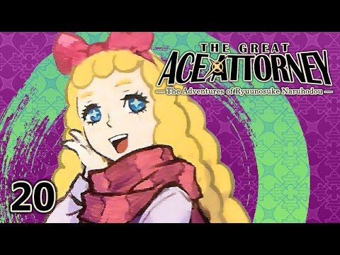 JUST ONE DAY - Let's Play - The Great Ace Attorney (DGS) - 20 - Walkthrough And Playthrough