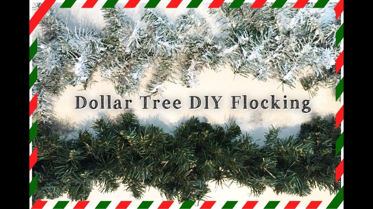 Dollar tree diy snow flocking how to flock your christmas dollar tree diy snow flocking how to flock your christmas garland tree momma from scratch solutioingenieria Image collections