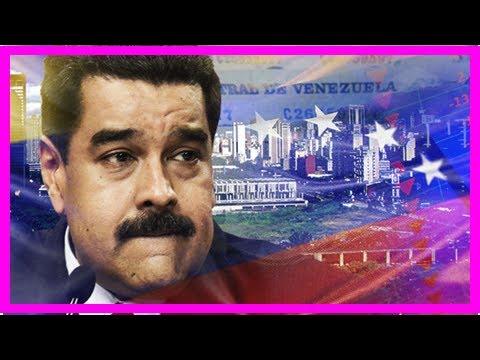 World on brink: venezuela defaults on $60billion debt and threatens new financial crisis