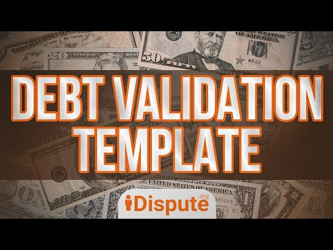 Debt Validation Sample Letter, Send To The Debt Collection Agency. Legal Forms - IDispute.org