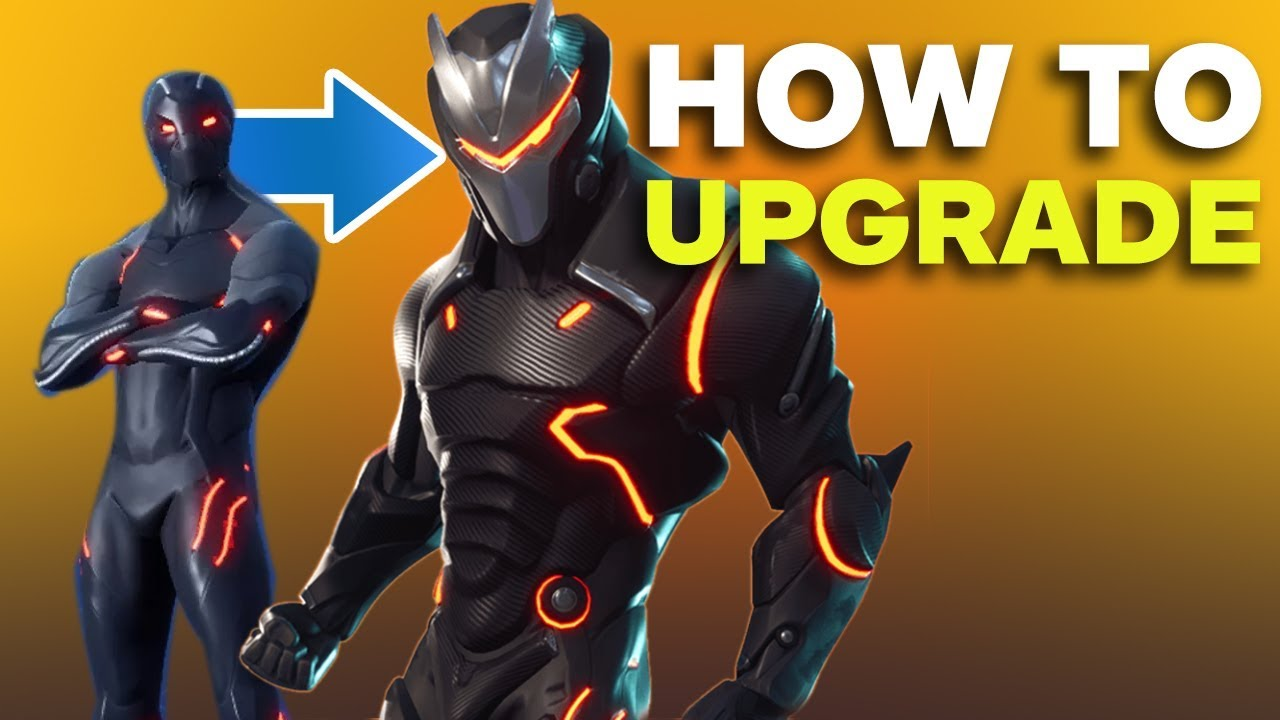 Fortnite How To Upgrade Your Carbide And Omega Skin Youtube