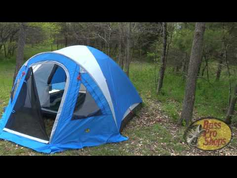 Bass Pro Shops Four Person Dome Tent with Screen Porch