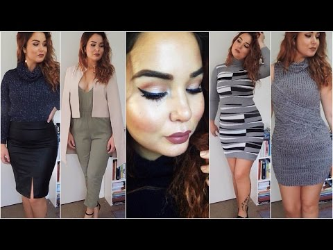 Curvy Girl Clothing Haul + Try-Ons♡Dolly Girl Fashion