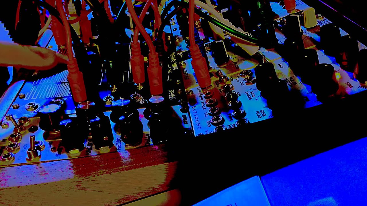 under pressure live modular synthesizer performance youtube. Black Bedroom Furniture Sets. Home Design Ideas