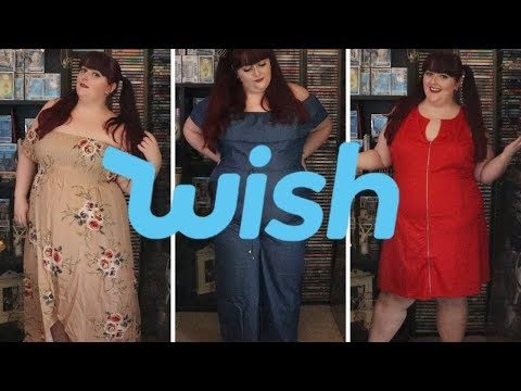 I WISH FOR ALL THE CLOTHES! | Wish Haul #4 (Plus Size Clothing Haul)