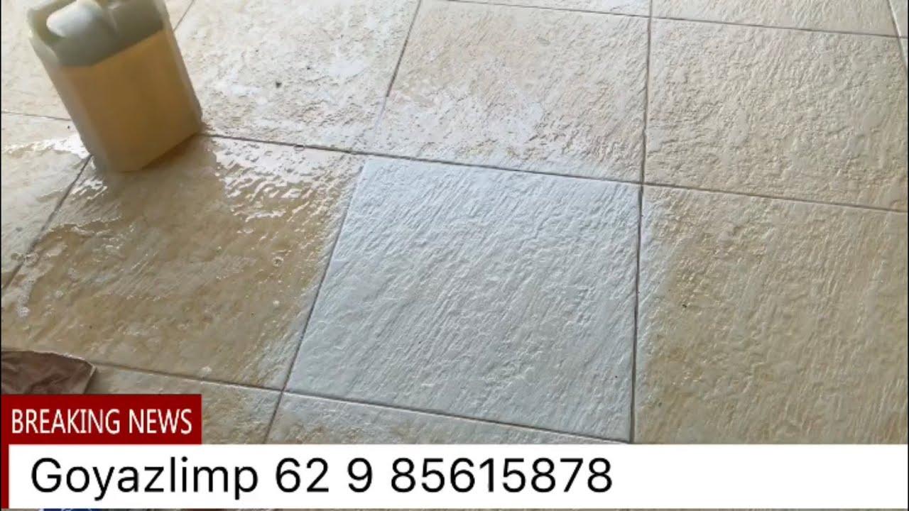 limpar porcelanato encardido