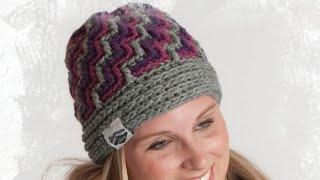 Crochet Crystal Ice Hats Tutorial