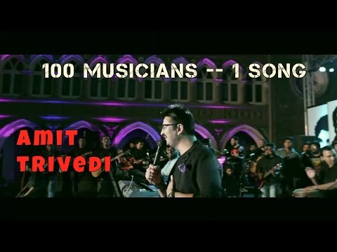 100 Musicians | One song | A grand performance | Amit Trivedi |Love you zindagi | St.Xaviers