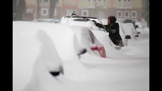 Снегопад в Москве 2018 побил рекорд 1957 года