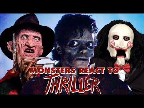 Monsters React To Michael Jackson