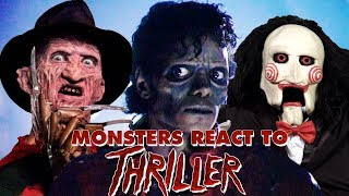 "Monsters React To Michael Jackson ""Thriller"" - SONG RANTS!"