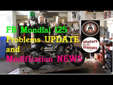 FB Mondial Problems UPDATE & Modifications