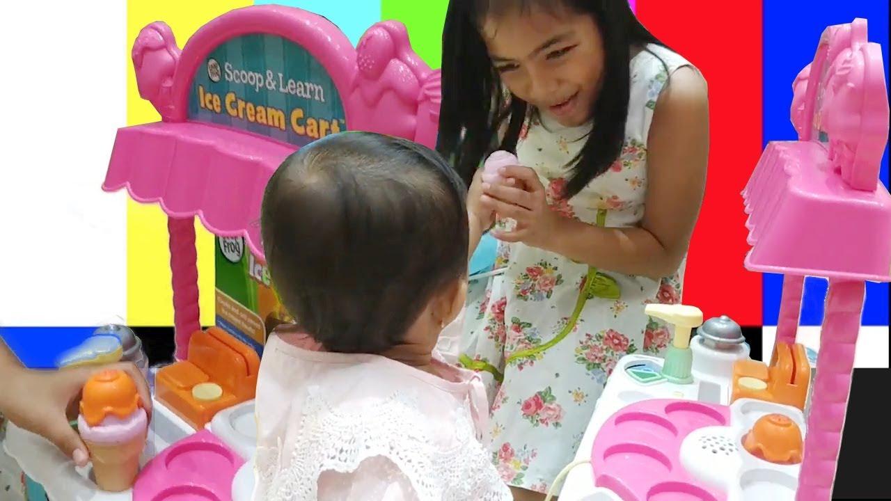 Balita Lucu Jualan Es Krim Dan Main Masak Masakan Victory Kids Tv Engsub Youtube