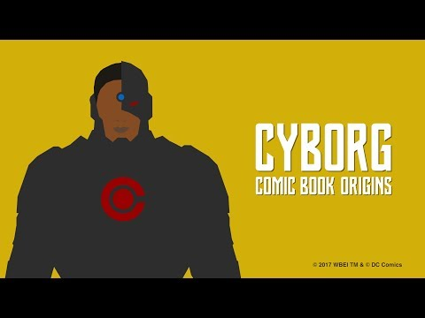 Justice League - Cyborg Comic Book Origins