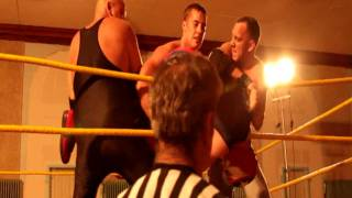 Wrestler Cameron Matthews