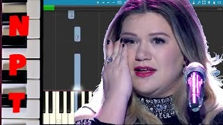 Kelly Clarkson - Piece by Piece - American Idol Version - Piano Tutorial - How To Play