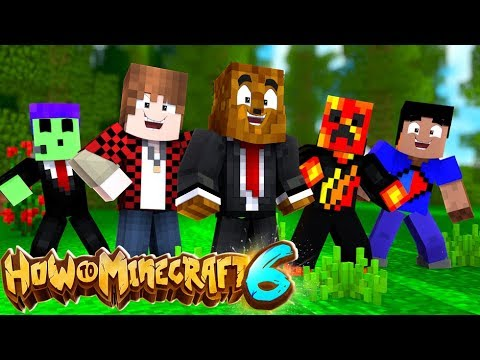The Minecraft Pillager Is IMPOSSIBLE - How To Minecraft 1.14 SMP #1 | JeromeASF