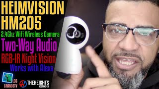 #Heimvision HM205 1080P Security Camera 📹 : #LGTV Review