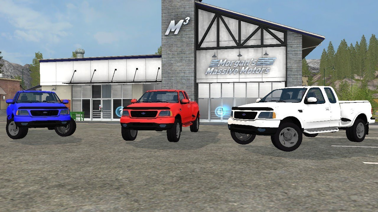 Farming simulator 17 1999 Ford f-150 release - YouTube  Farming simulat...
