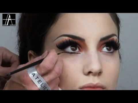 Maquillaje Artístico Video 16 Moulin Rouge