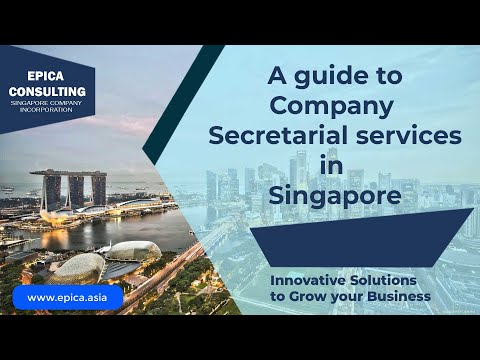 A guide to Company Secretary Services in Singapore