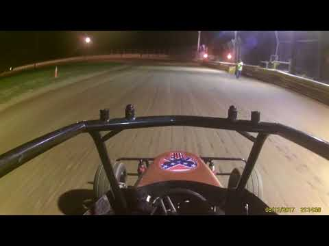 Deerfield Raceway Nathaniel '01' jr sprint 8 12 17 feature part 1