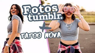 FIZ UMA TATTOO NOVA + FOTOS TUMBLR- DESAFIO NIINA SECRETS COLLECTION