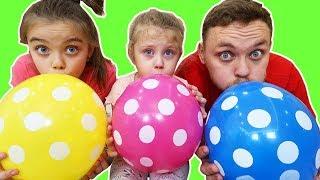 Learn COLORS BALLOONS with DOTS   Învățam Culorile cu Baloanele cu Buline